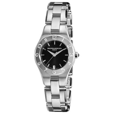616-558 - Baume & Mercier Women's Linea Swiss Made Quartz Stainless Steel Bracelet Watch