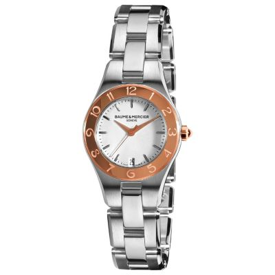 616-561 - Baume & Mercier Women's Linea Swiss Made Quartz Stainless Steel Bracelet Watch
