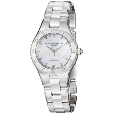 616-568 - Baume & Mercier Women's Linea Swiss Made Quartz Stainless Steel Bracelet Watch