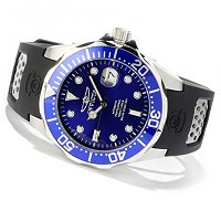INVICTA MEN'S GRAND DIVER AUTOMATIC STAINLESS CASE STRAP WATCH
