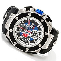 GV2 Men's Corsaro Swiss Made Quartz Chronograph Rubber Strap Watch