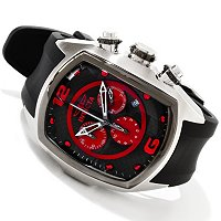 INVICTA MEN'S LUPAH REVOLUTION QUARTZ CHRONOGRAPH STRAP WATCH