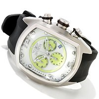 INVICTA MEN'S LUPAH REVOLUTION QUARTZ CHRONOGRAPH LUME DIAL STRAP WATCH