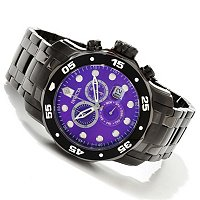 INVICTA MEN'S PRO DIVER SCUBA QUARTZ CHRONOGRAPH STAINLESS BRACELET WATCH