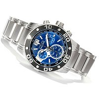 INVICTA RESERVE MEN'S SPEEDWAY SWISS QUARTZ CHRONO STAINLESS BRACELET