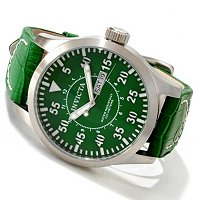 INVICTA MEN'S SPECIALTY OUTDOOR MILITARY QUARTZ DAY & DATE STRAP WATCH