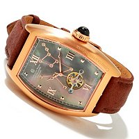 CONSTANTIN WEISZ MEN'S HERCULES CONSTELLATION STRAP WATCH