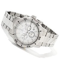 INVICTA SPECIALTY CLASSIC QUARTZ CHRONOGRAPH STAINLESS BRACELET WATCH