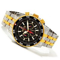 INVICTA RESERVE MEN'S OCEAN DIVER NE78 AUTOMATIC CHRONOGRAPH BRACELET WATCH