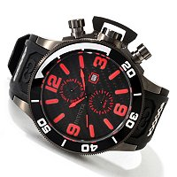 INVICTA MEN'S CORDUBA QUARTZ CARBON FIBER DIAL STRAP WATCH