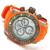 INVICTA MEN'S SEA HUNTER SWISS CHRONOGRAPH STRAP WATCH