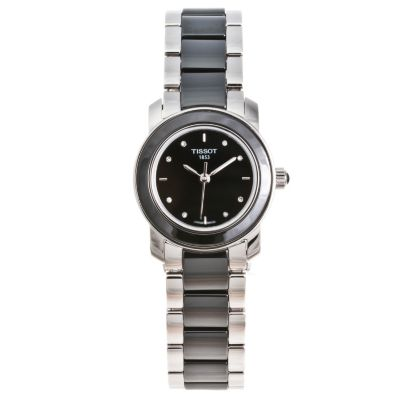 617-240 - Tissot Women's Cera Swiss Made Quartz Ceramic Bracelet Watch