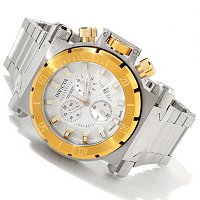 INVICTA MENS COALTION FORCES SWISS QUARTZ CHRONO BRACELET WATCH W/ EXTRA STRAP
