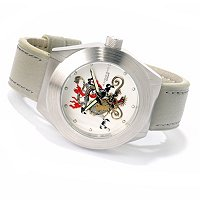 ANDROID MEN'S TATTOOED DRAGON AUTOMATIC STRAP WATCH