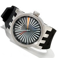 INVICTA DNA TURBINE QUARTZ STAINLESS CASE STRAP WATCH