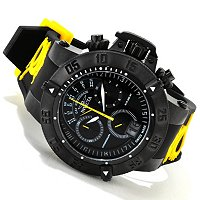 INVICTA MENS SUBAQUA NOMA III SPEC ED SWISS QUARTZ CHRONO DAY RETRO STRAP WATCH
