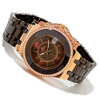 ONISS WOMEN'S FANTASY COLLECTION CERAMIC MOP DIAL SWISS MVMT BRACELET WATCH