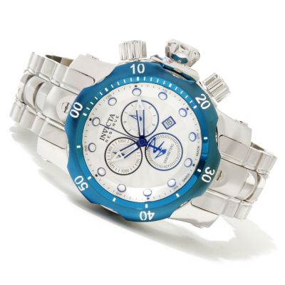 617-357 - Invicta Reserve Mid-Size Venom Swiss Quartz Chronograph Stainless Steel Bracelet Watch