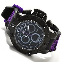 INVICTA MEN'S SUBAQUA NOMA III SPEC ED SWISS QUARTZ CHRONO DAY RETRO STRAP WATCH