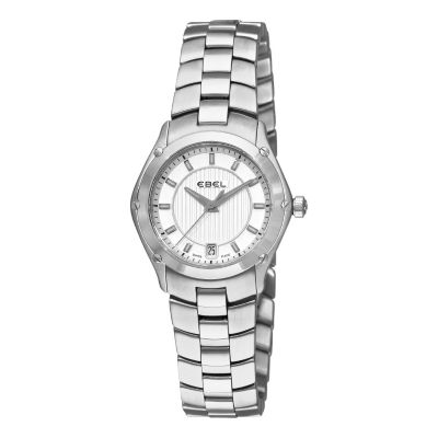 617-397 - Ebel Women's Classic Sport Swiss Made Quartz Stainless Steel Bracelet Watch