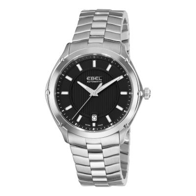617-409 - Ebel Men's Classic Sport Swiss Made Automatic Stainless Steel Bracelet Watch