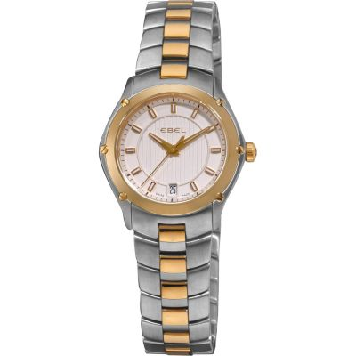 617-413 - Ebel Women's Classic Sport Swiss Made Quartz Two-tone Stainless Steel Bracelet Watch