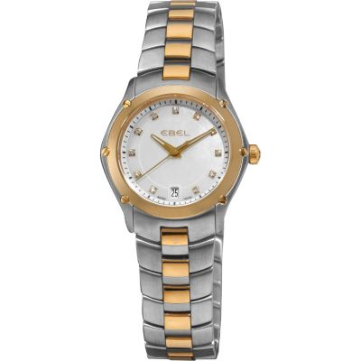 617-418 - Ebel Women's Classic Sport Swiss Made Quartz Two-tone Stainless Steel Bracelet Watch