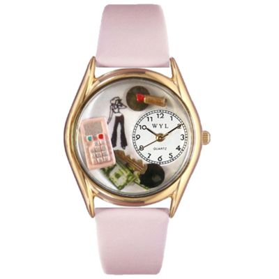 617-447 - Whimsical Watches Kid's Teen Girl Quartz Leather Strap Watch