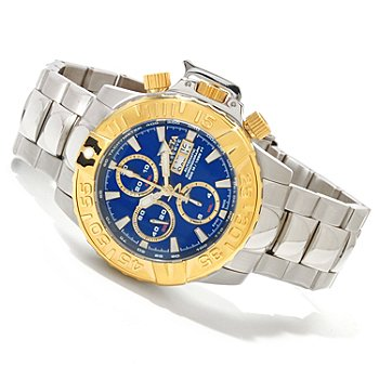 617-452 - Invicta Reserve Men's Subaqua Noma II Swiss Made Limited Edition Valjoux 7750 Bracelet Watch