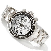 INVICTA RESERVE MEN'S SPEEDWAY SWISS VALJOUX AUTOMATIC BRACELET WATCH