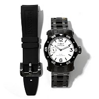INVICTA MEN'S PRO DIVER SCUBA MECHANICAL STAINLESS BRACELET WATCH W/ EXTRA STRAP