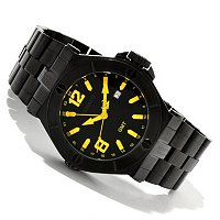 RENATO MENS WILDE BEAST 50MM BRACELET WATCH