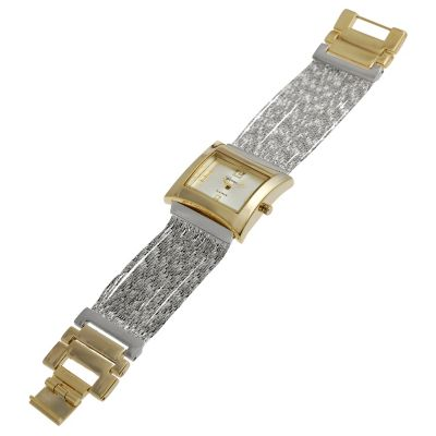 617-638 - Geneva Platinum Women's Quartz Multi Strand Bracelet Watch