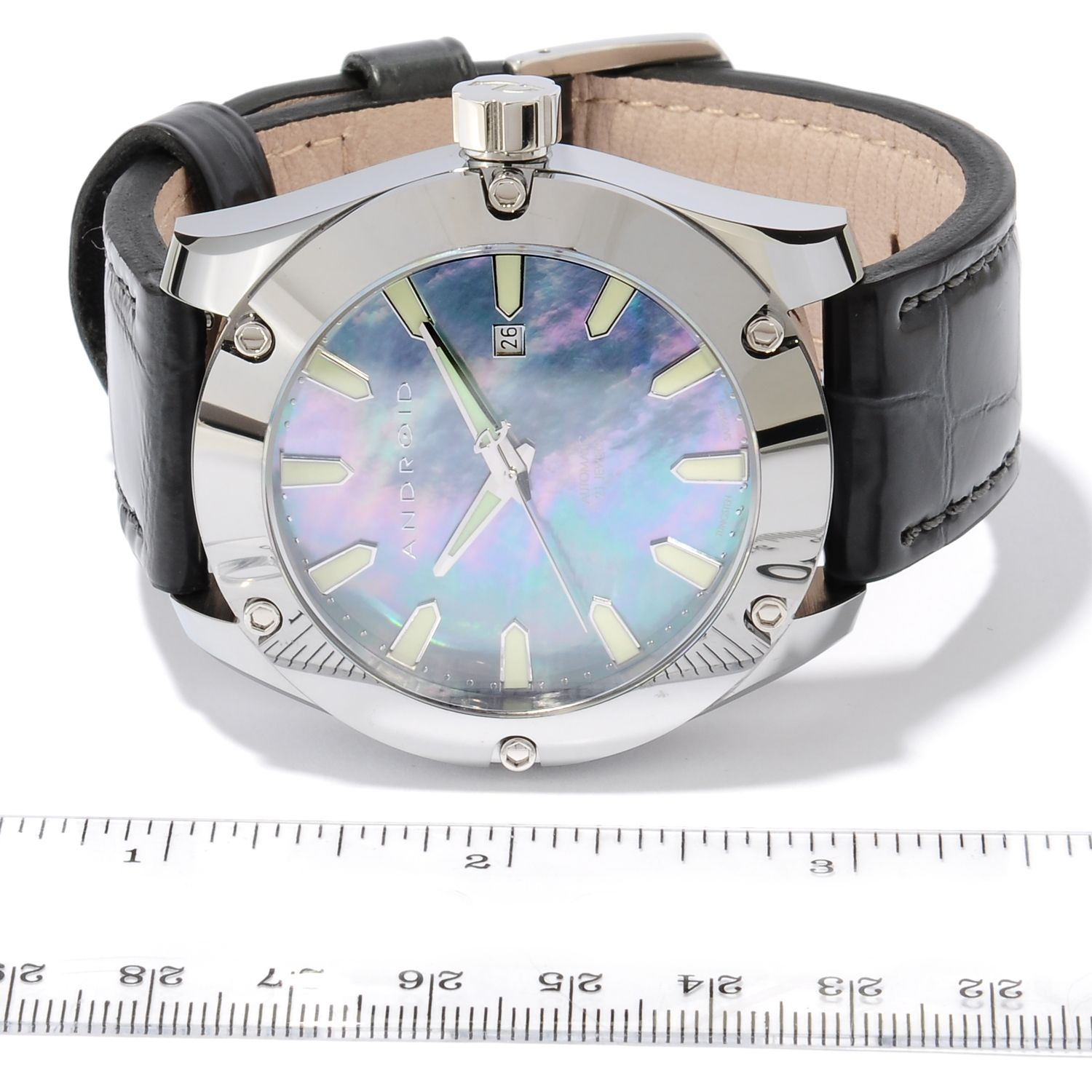 Android men s antigravity limited edition automatic tungsten watch w