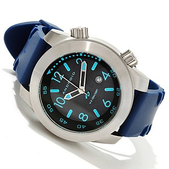 617-727 - Android Men's Octopuz Quartz Stainless Steel Rubber Strap Watch