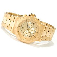 INVICTA MEN'S SPECIALTY QUARTZ CHRONO STAINLESS BRACELET WATCH