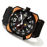 GV2 by Gevril Men's XO Submarine Swiss Made Quartz Strap Watch
