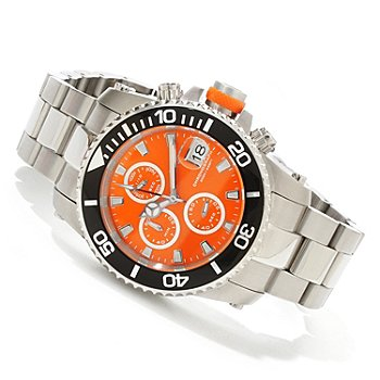 617-831 - Invicta Men's Pro Diver Quartz Chronograph Interchangeable Stainless Steel Bracelet Watch
