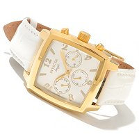INVICTA WOMEN'S ANGEL SQUARE QUARTZ STRAP WATCH