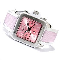 INVICTA WOMEN'S CUADRO QUARTZ MULTIFUNCTION STRAP WATCH
