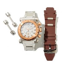 INVICTA MENS COLAITION FORCE SWISS QUARTZ CHRONO BRACELET WATCH W/ EXTRA STRAP
