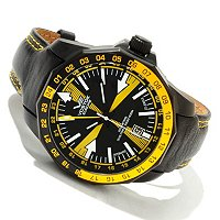 Vostok Europe Men's Radio Room Automatic Strap Watch