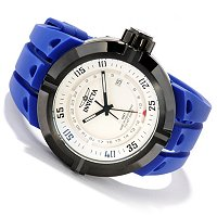 INVICTA MEN'S I FORCE CONTENDER QUARTZ GMT STRAP WATCH