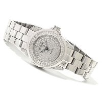 INVICTA WOMEN'S PRO DIVER QUARTZ DIAMOND PAVE DIAL BRACELET WATCH
