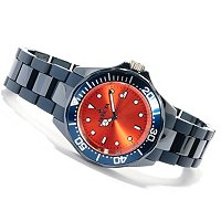 INVICTA MID PRO DIVER QUARTZ MOVEMENT CERAMIC BRACELET WATCH