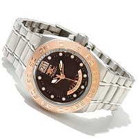 INVICTA MID SUBAQUA SPORT BIG DATE/DAY RETROGRADE STAINLESS BRACELET WATCH