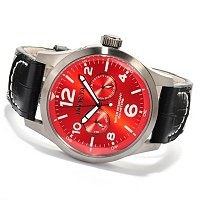 INVICTA MEN'S SPECIALTY MILITARY DAY/DATE STRAP WATCH