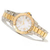 TTV INVICTA WOMEN ANGEL STARLIGHT MOP DIAL BRACELET WATCH W/ JEWLERY BOX