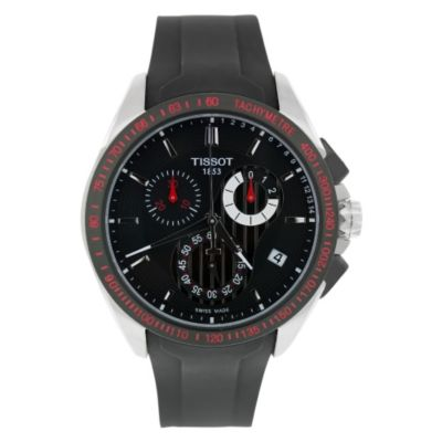 618-149 - Tissot Men's T Sport Veloci-T Swiss Made Quartz Chronograph Rubber Strap Watch