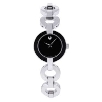 618-195 - Movado Women's Belamoda Swiss Made Quartz Stainless Steel Bracelet Watch